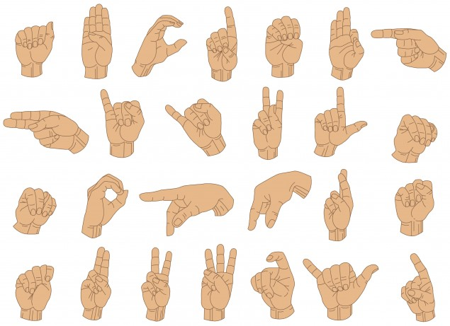 Sign Language Alphabet for Kids