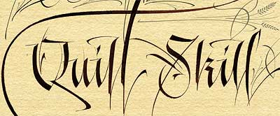 Western-calligraphy