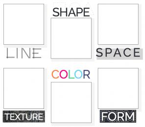 elements of design handout for kids