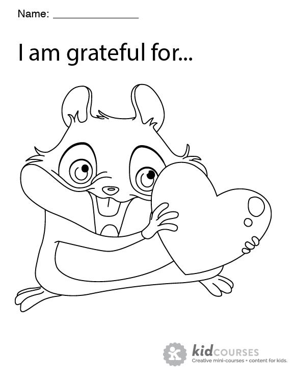 Gratitude-coloring-page