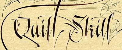 Western-calligraphy