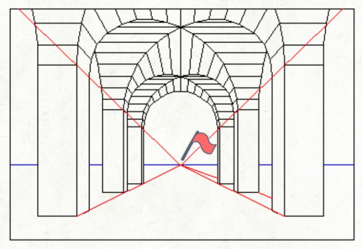 vanishing point: elements of design for kids -line