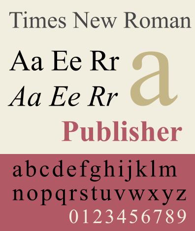 visual rhetoric - typography
