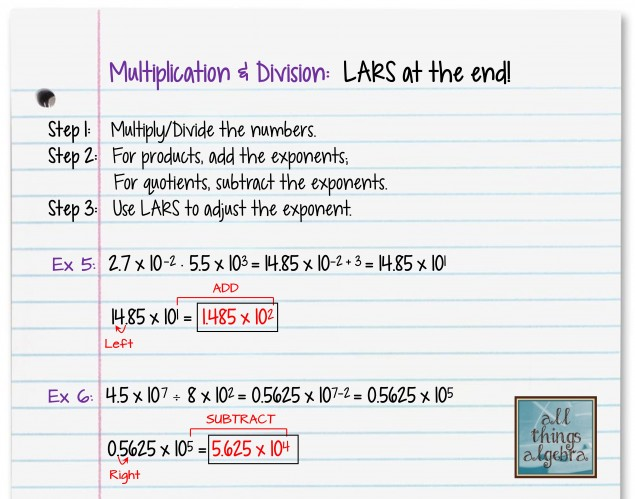 Operations With Scientific Notation And Lars. Using Lars To Teach Operations With Scientific Notation Was Truly A Game Changer In My Classroom Students Find These Problems Simple And. Worksheet. Operations With Scientific Notation Review Worksheet At Clickcart.co