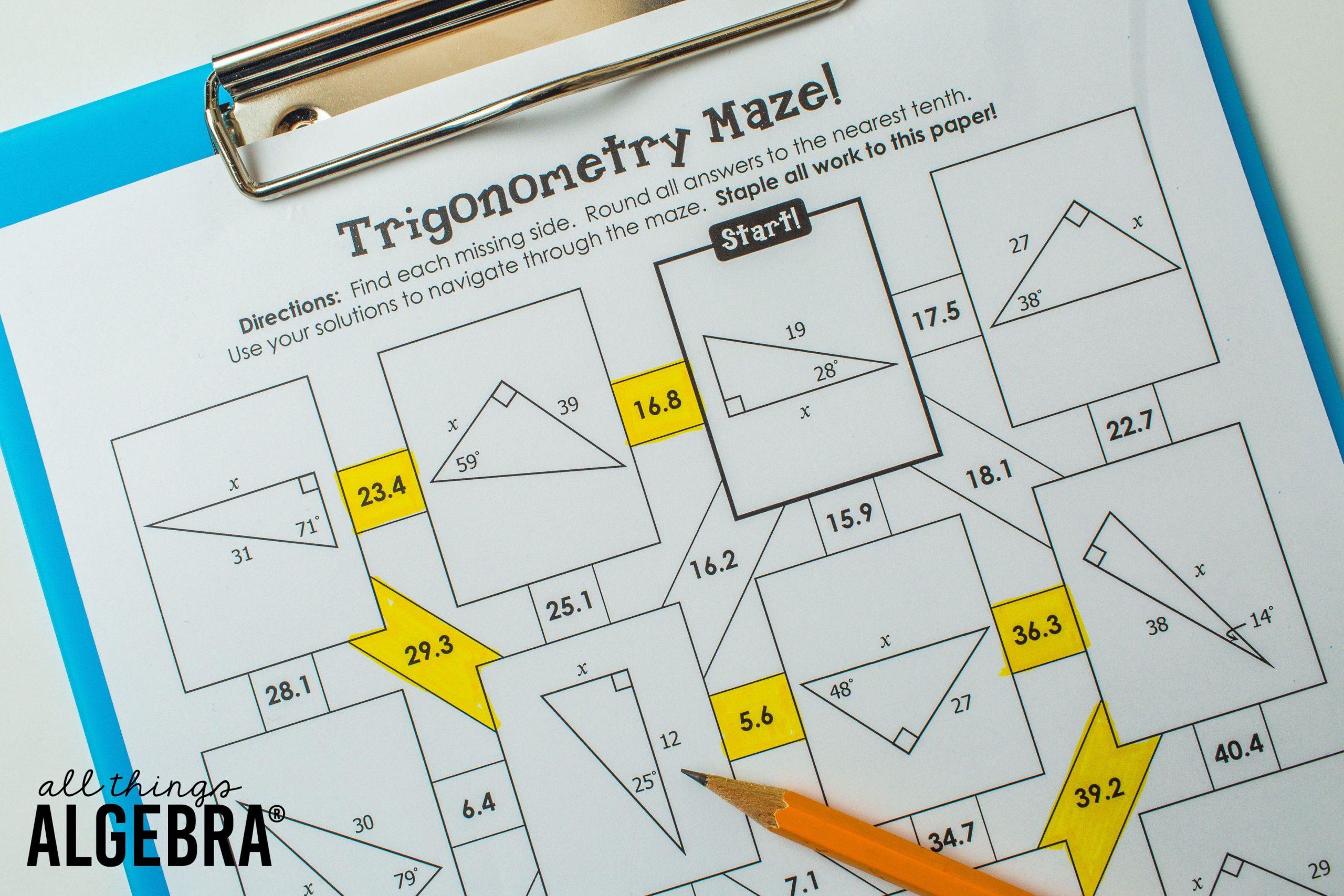 5 Resources For Right Triangles And Trigonometry Kidcourseskidcourses Com [ 1707 x 2560 Pixel ]